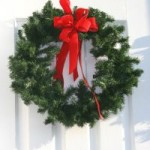 Christmas Door Decorations Wreathes