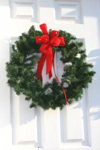 Christmas Door Decorations Wreathes